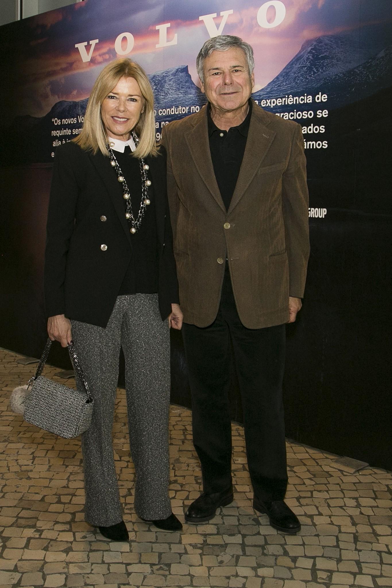 Maria José Galvaão e Humberto Leal