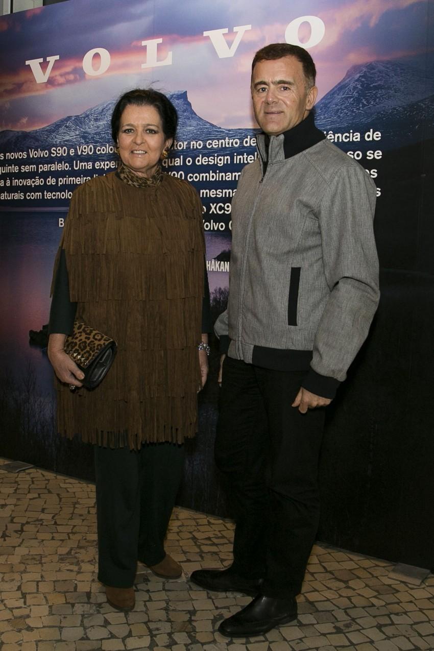 Paula Taborda e Paulo Faustino