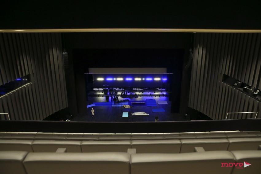 O Auditório Principal conta com 1125 lugares