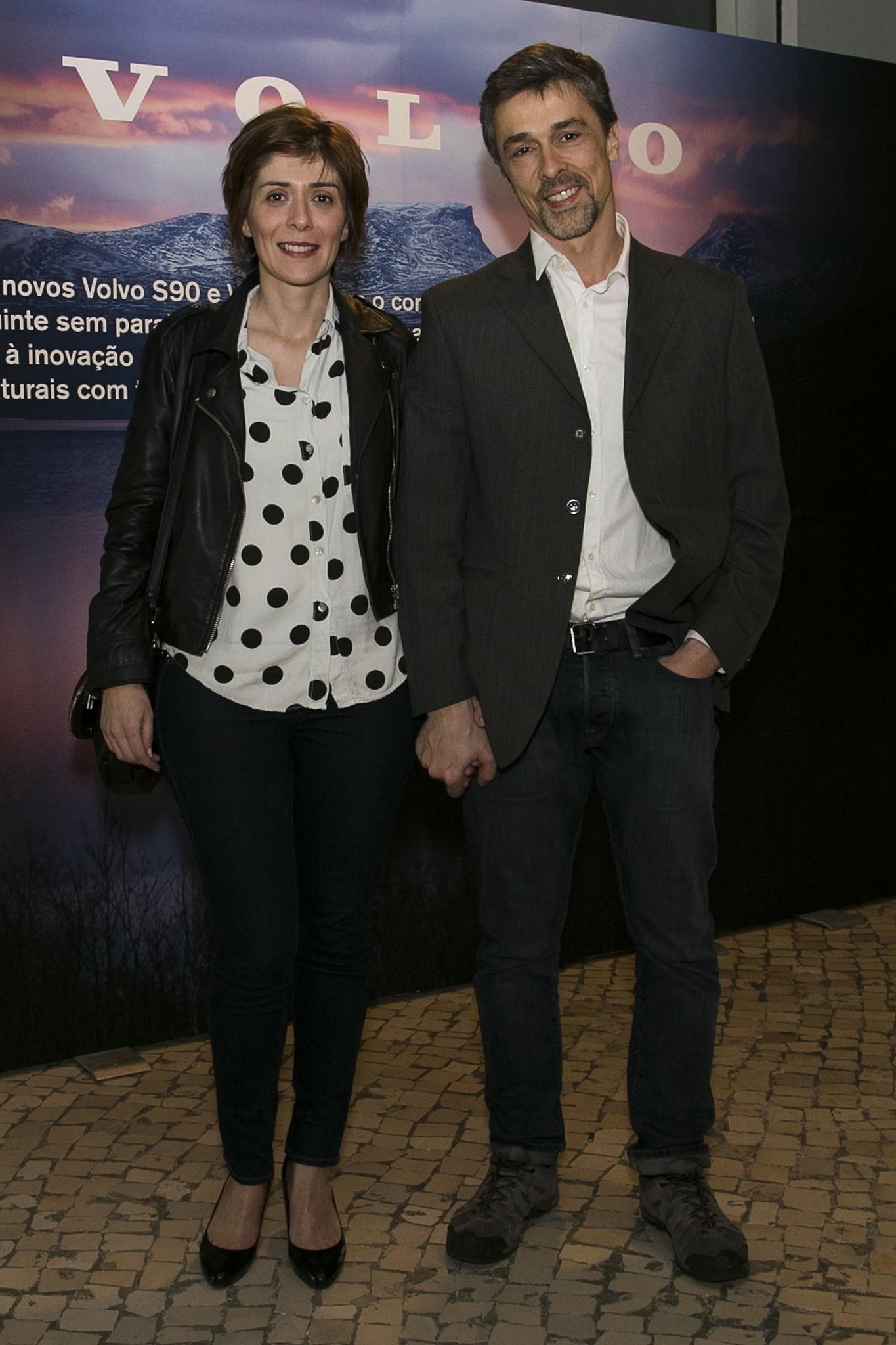 Vitor Gonçalves e mulher