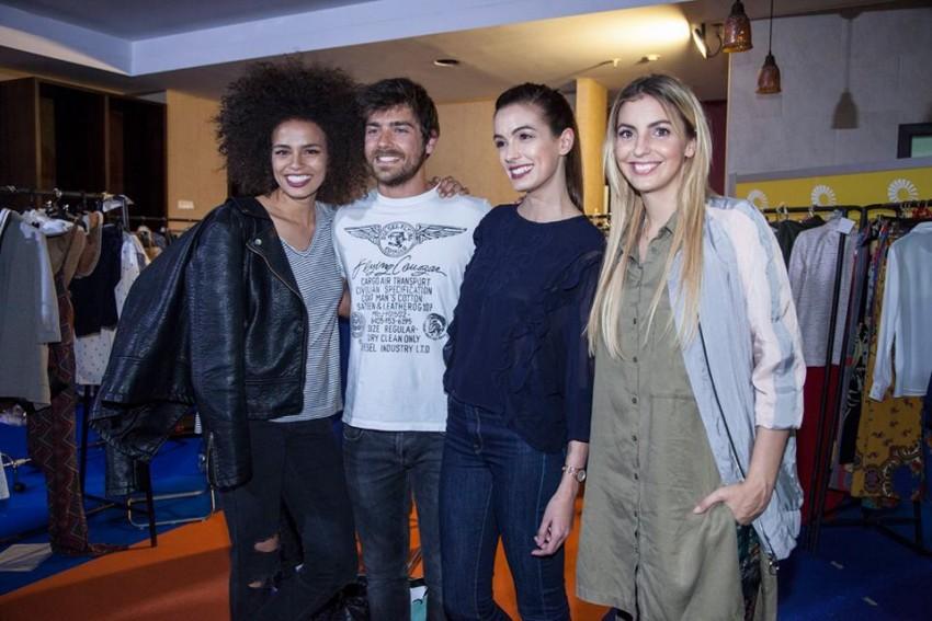 Ana Sofia, Lourenço Ortigão, Iva Lamarão e Jéssica Athayde