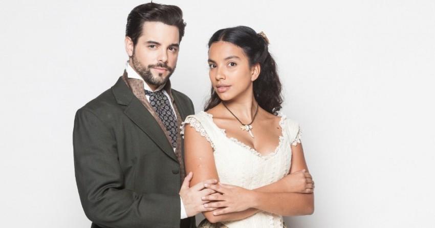 """Pedro Carvalho com Gabriela Moreira na sequela de """"Escrava Isaura"""""""
