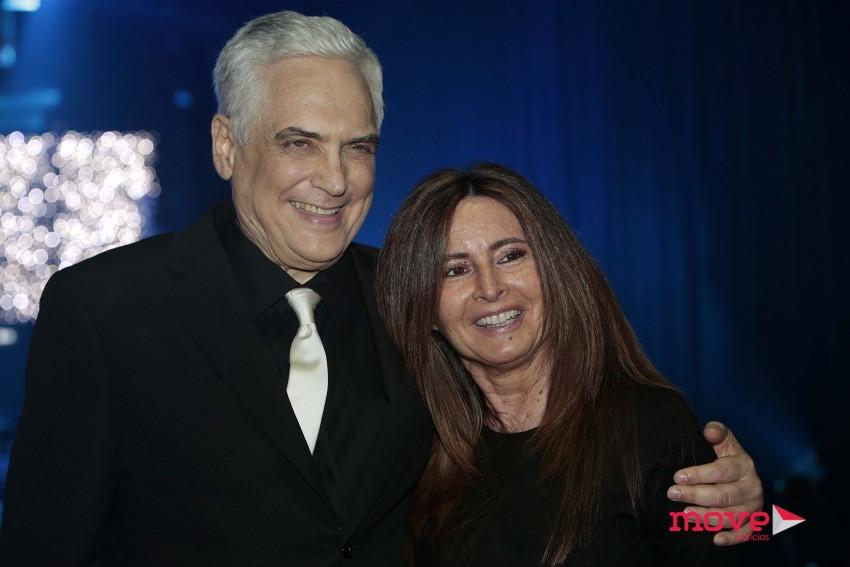 Filipe La Feria e Serenella Andrade