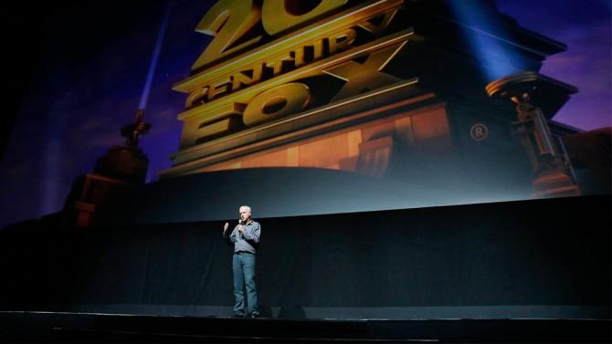 20th Century Fox presentation at CinemaCon, Las Vegas, America - 14 Apr 2016