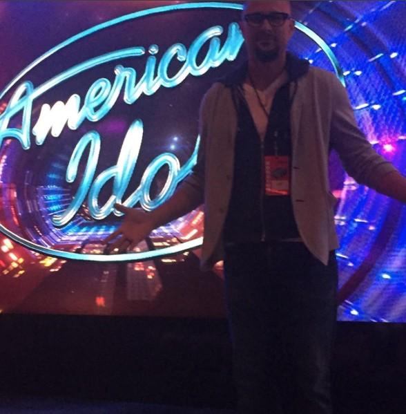 Chris Judd, ex-marido de J.Lo, nos bastidores