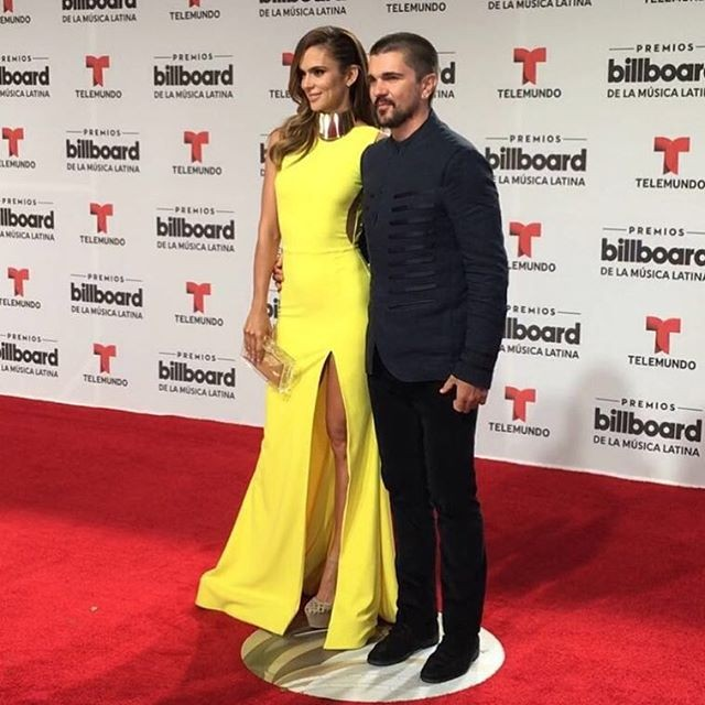 O cantor Juanes com a mulher Karen Martínez
