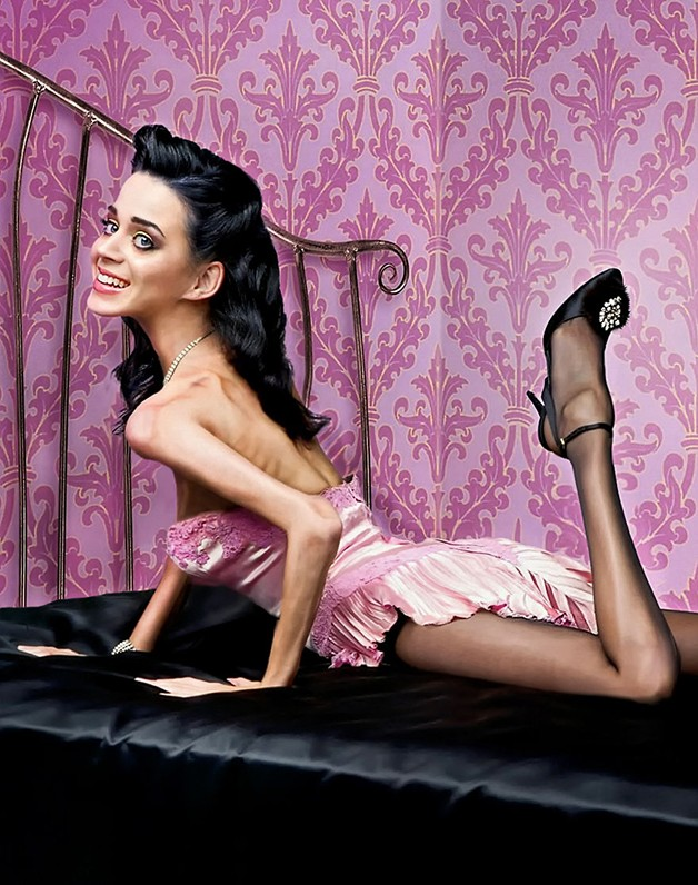 Katy Perry, obra de Mandrak no Worth1000