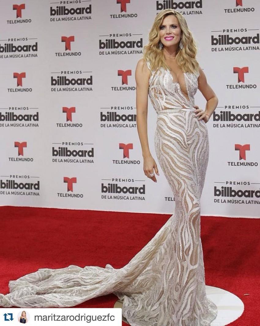 A atriz Martiza Rodriguez não passou despercebida