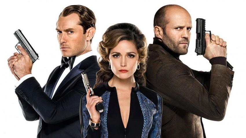 O filme conta ainda com Jude Law, Jason Statham e Rose Byrne nos papeis principais