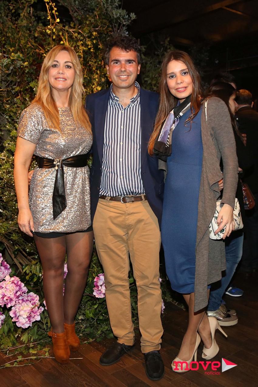Goreti Soares, Miguel Medina e Filipa Ribeiro