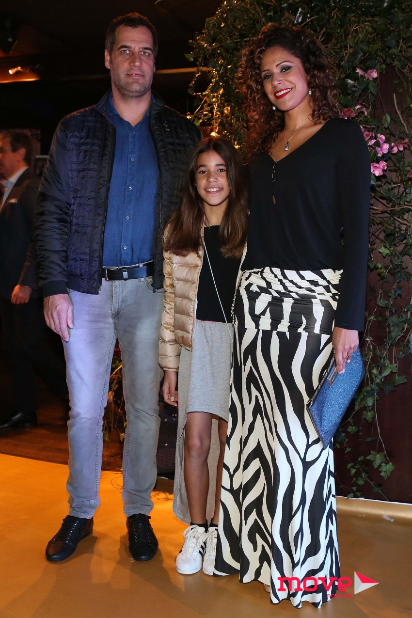 Nuno Carvalho, Luana e Adriana Lua