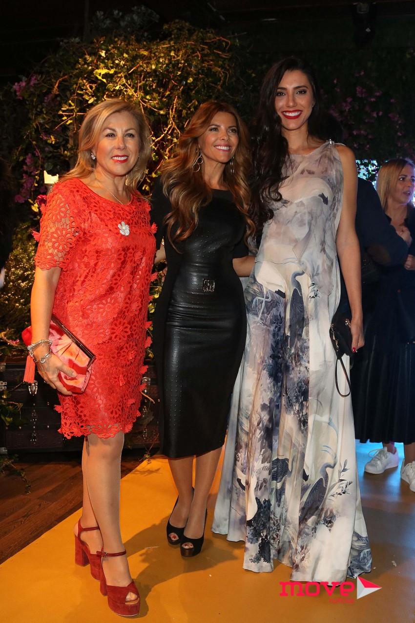 Rosa Maria, Sónia Araújo e Kelly Baron