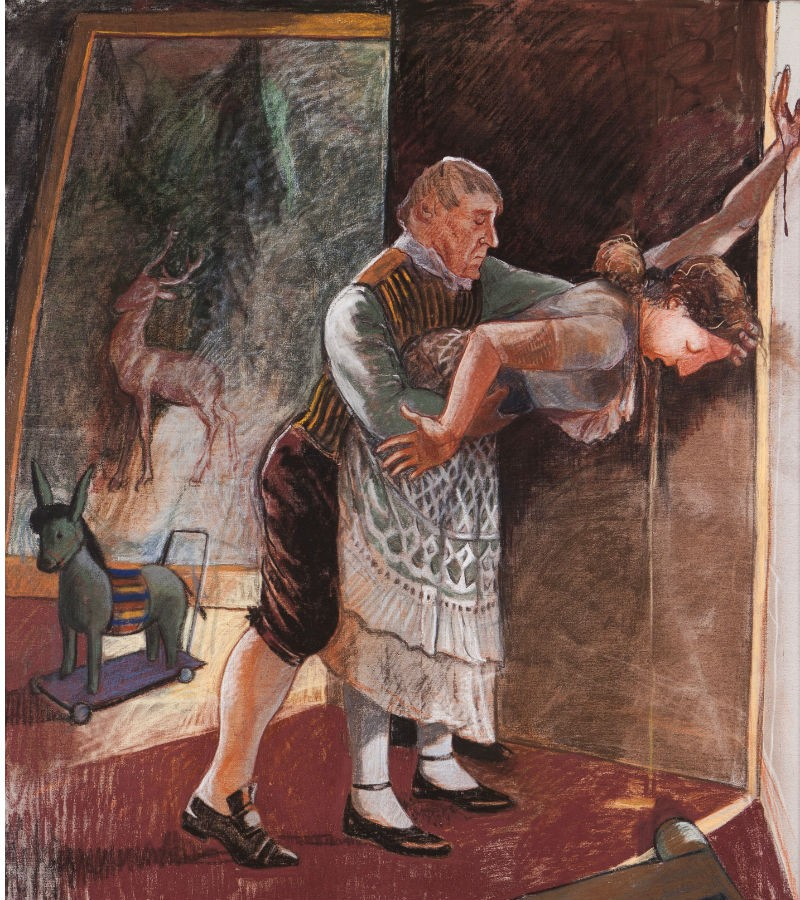 """The Servant"" de Paula Rego"