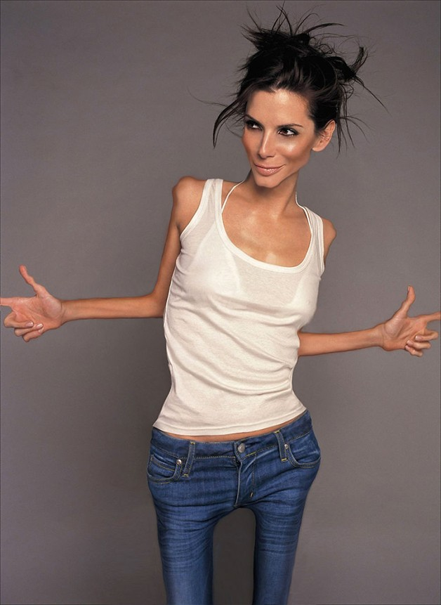 Sandra Bullock, obra de Renata 33 no Worth1000