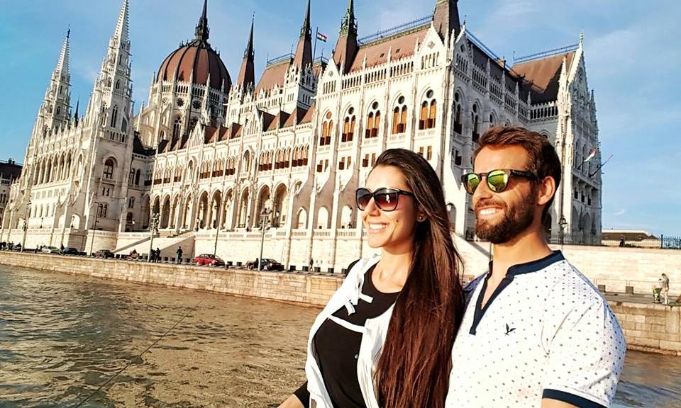 Kelly Baron e Pedro Guedes