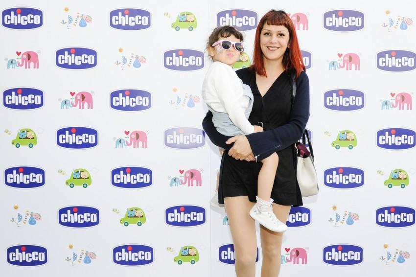 Ana Sabino com o filho
