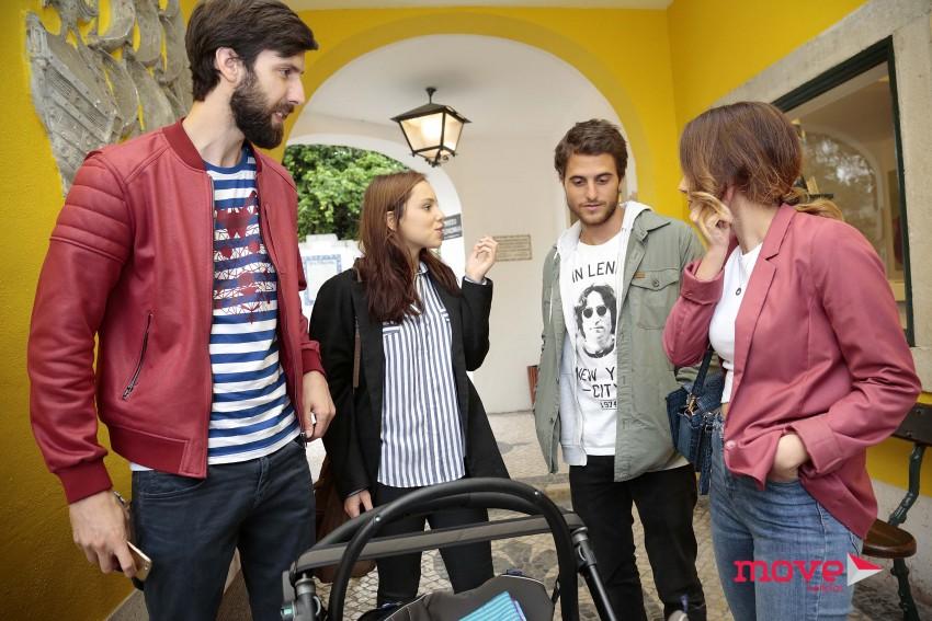 Frederico Amaral, Filipa Areosa, Tiago Teotónio Pereira e Marta Andrino