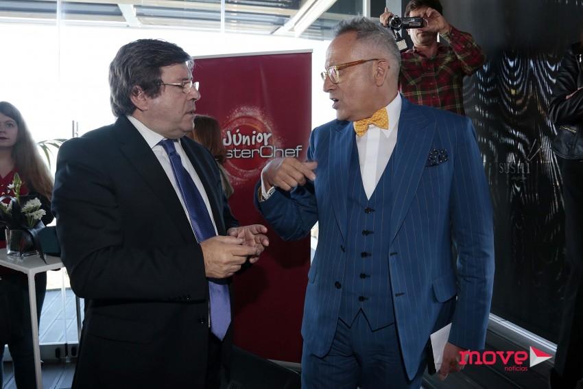 Luís Cunha Velho e Manuel Luís Goucha