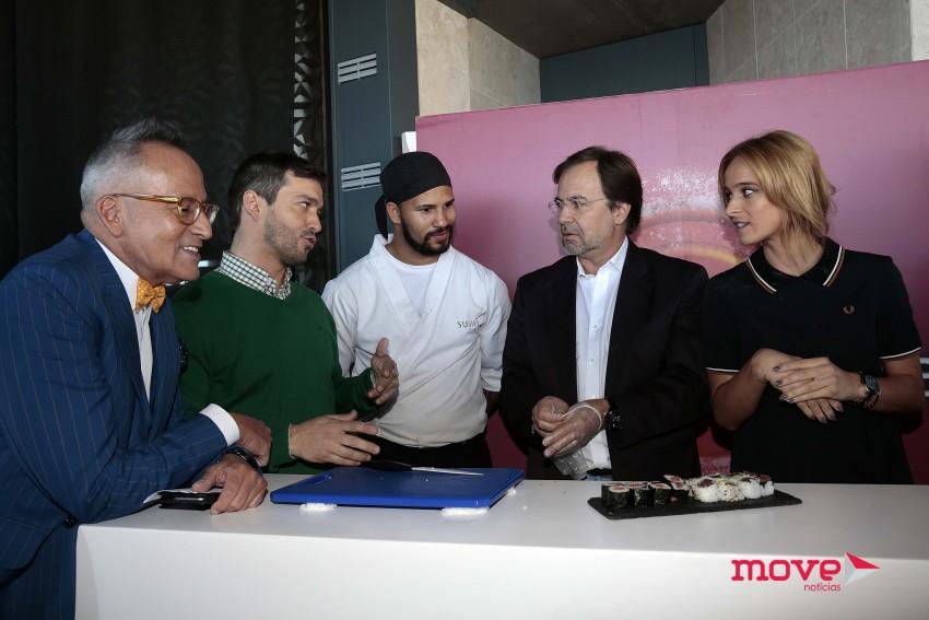 Manuel Luís Goucha, Miguel Rocha Vieira, Paulo Salvador e Sara Prata