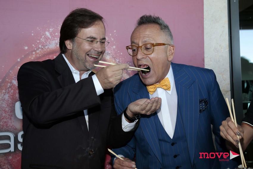 Manuel Luís Goucha e Paulo Salvador