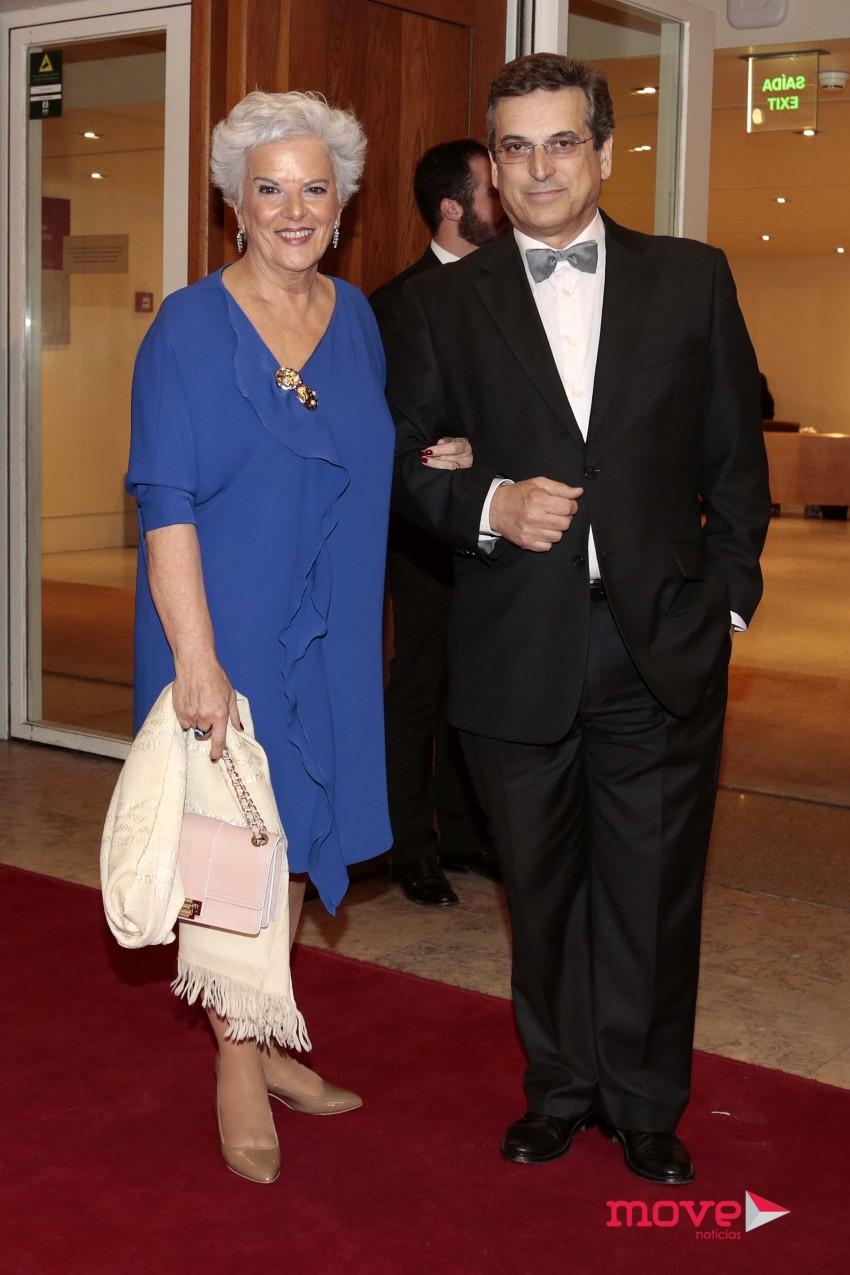 Lidia Franco e António Esteves