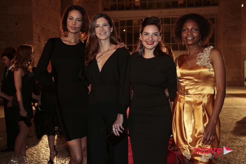 Sofia Baessa, Matilde Breyner, Leonor Seixas e Mina Andala