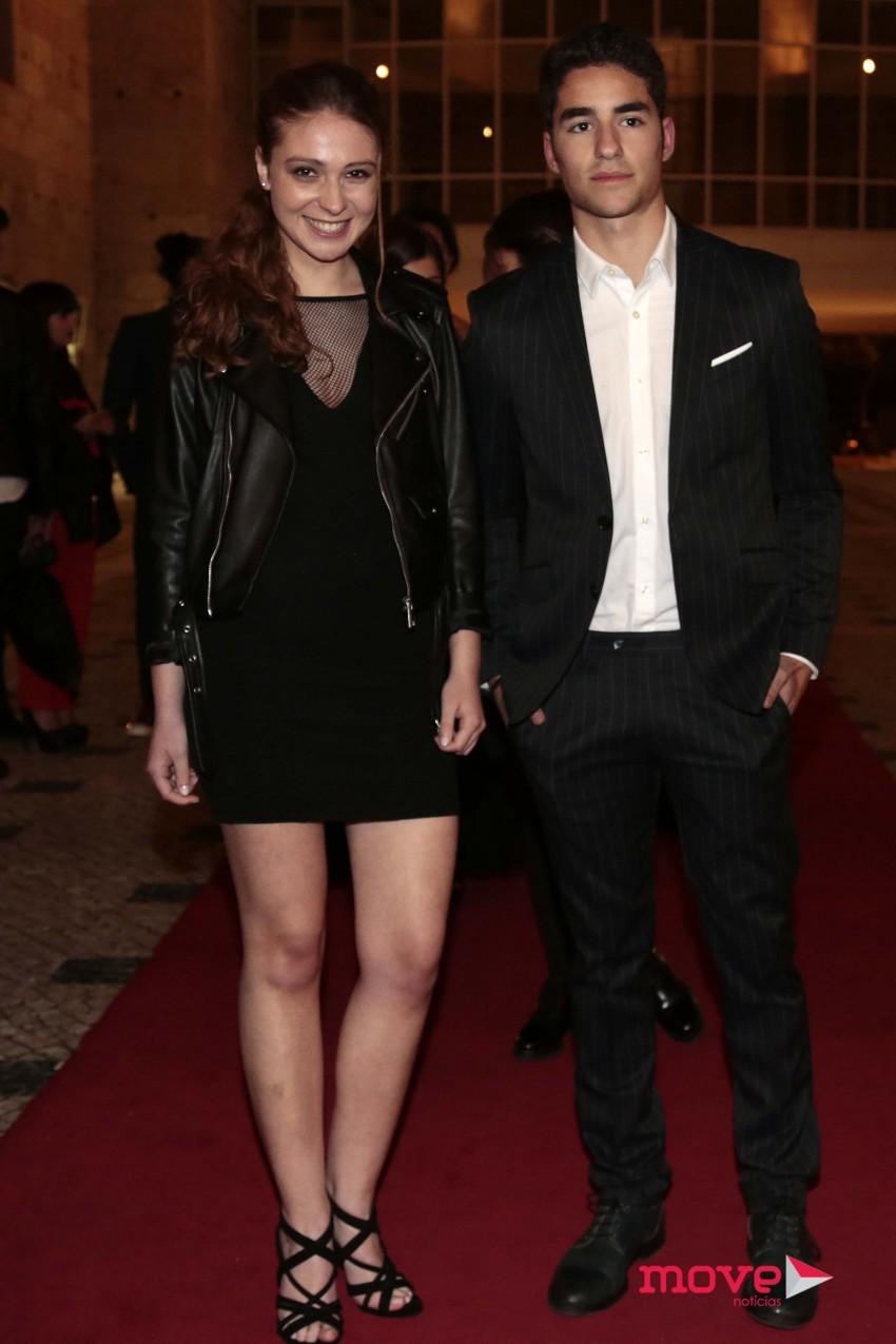 José Condessa com a namorada Rafaela Almeida Rosa