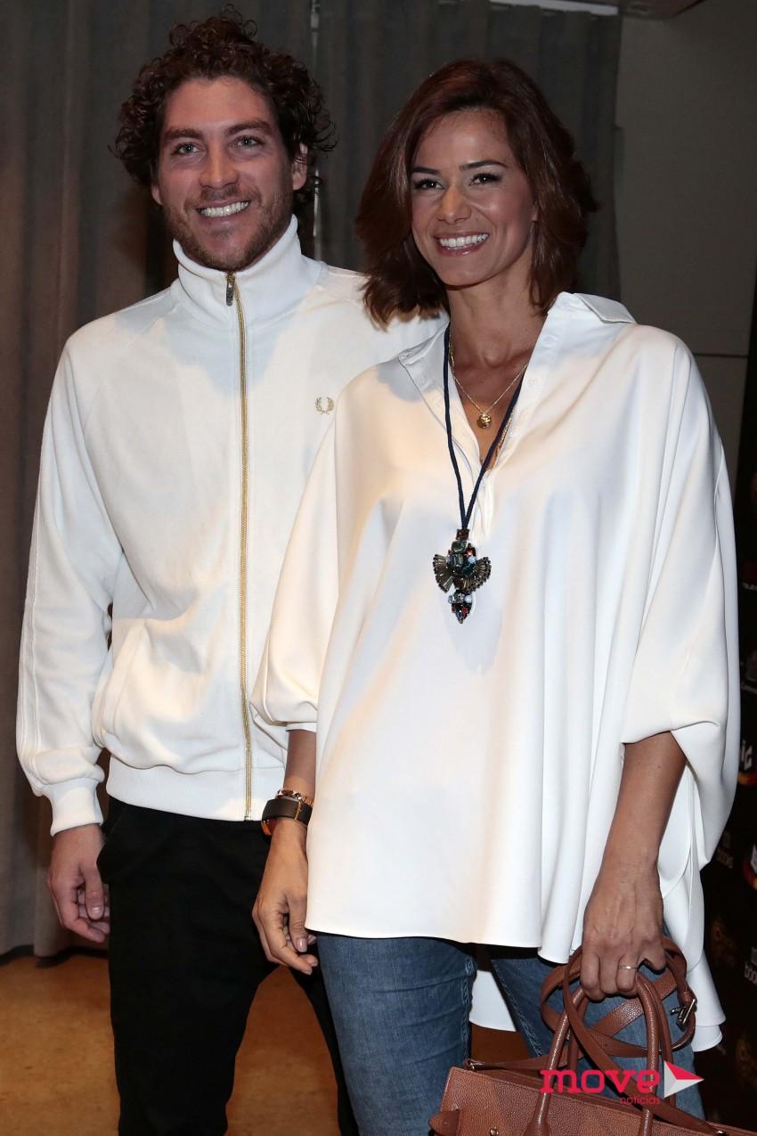 Cláudia Vieira e Igor Marchesi