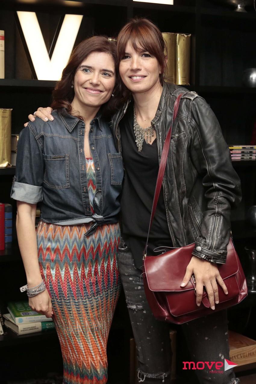 Anabela Teixeira e Lúcia Moniz