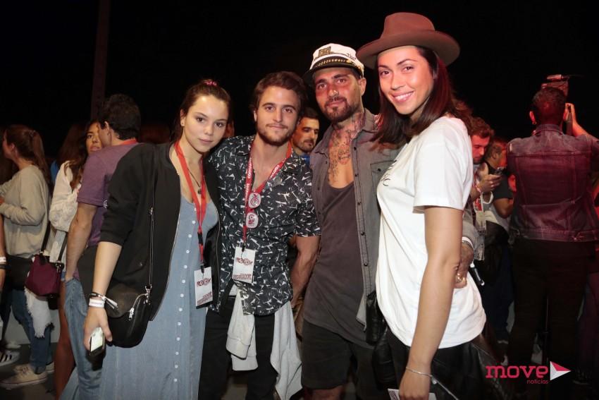 Filipa Areosa, Tiago Teotónio Pereira, Miguel Mouzinho e Débora Monteiro