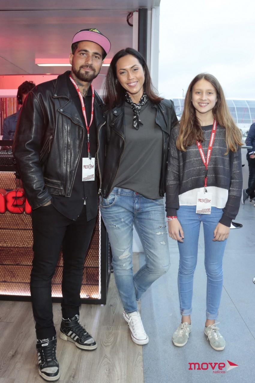 Miguel Mouzinho, Débora Monteiro e Beatriz