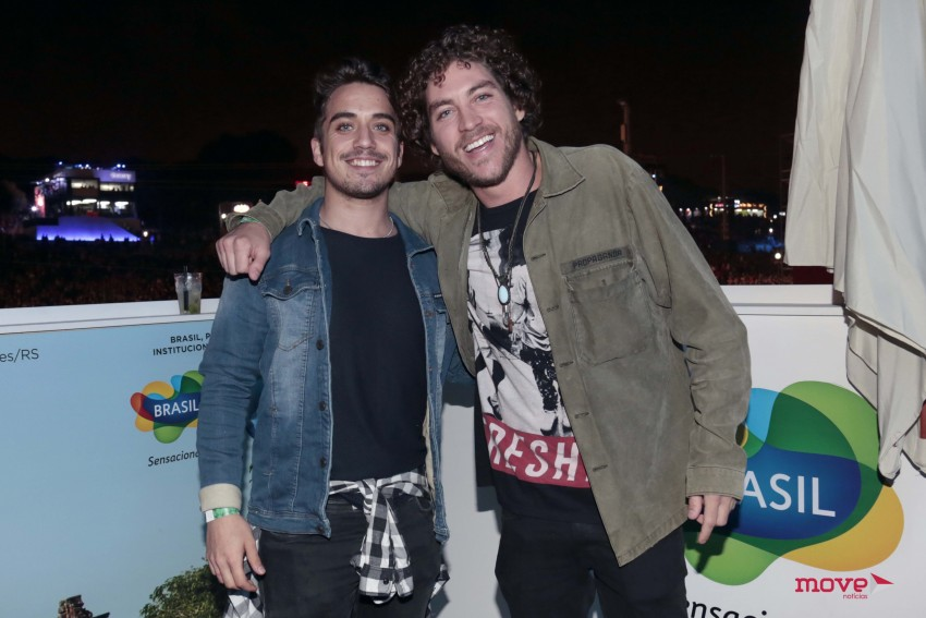 Diogo Martins e Igor Marchesi