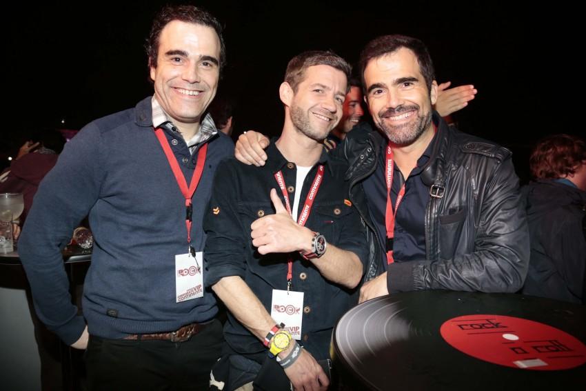 Sérgio Delgado, Pedro Granger e Marco Delgado