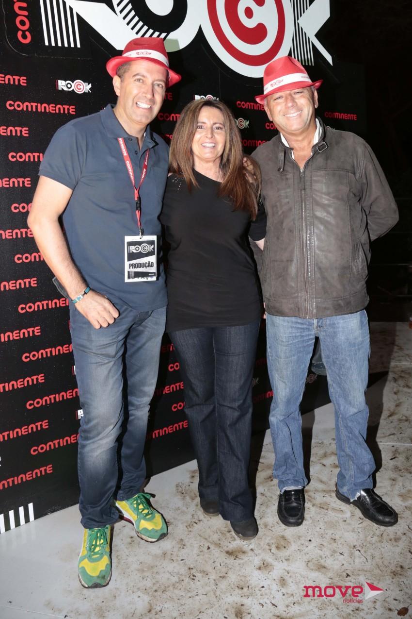 Diamantino com Serenella Andrade e José Carlos Antunes