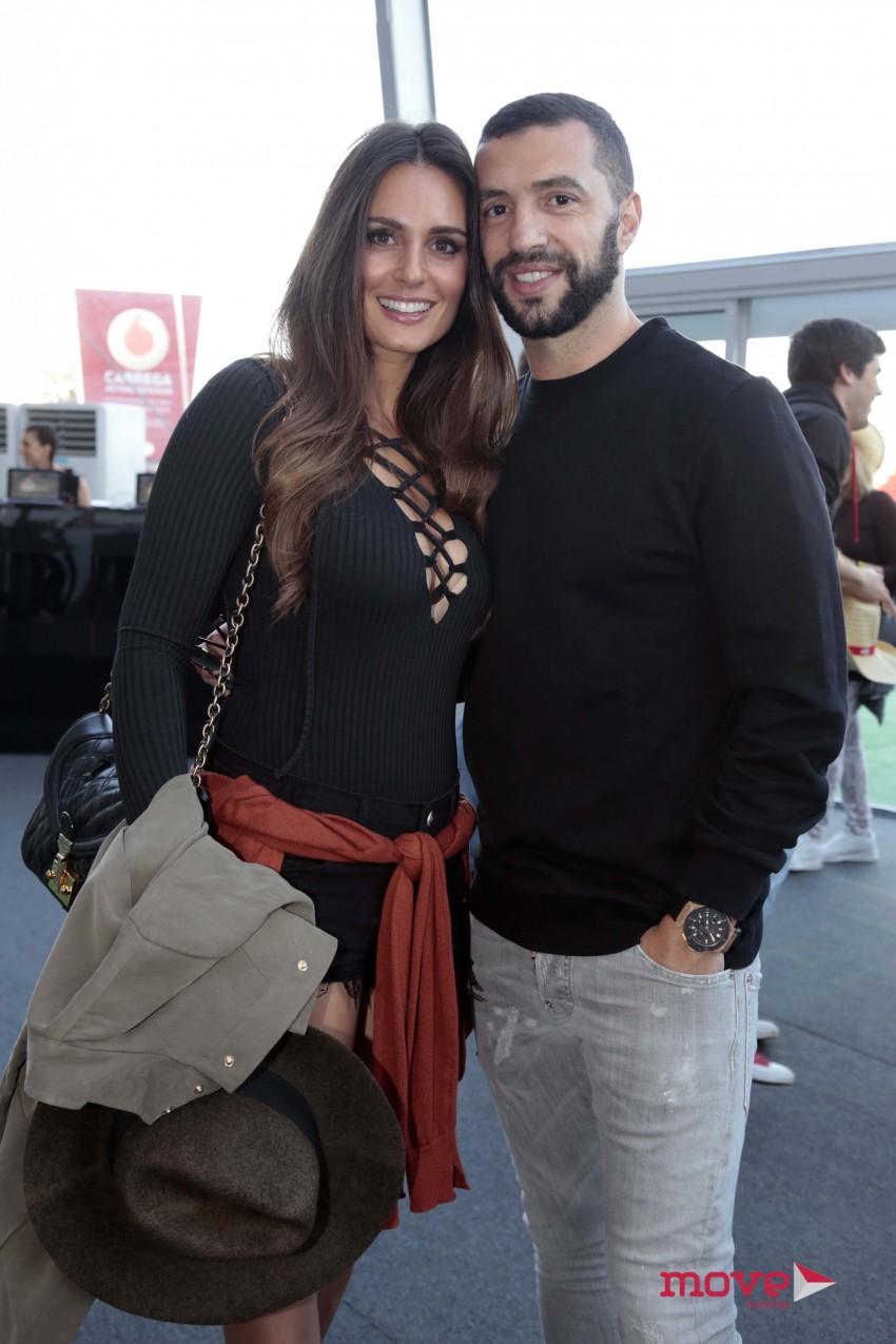 Vanessa e Simão Sabrosa