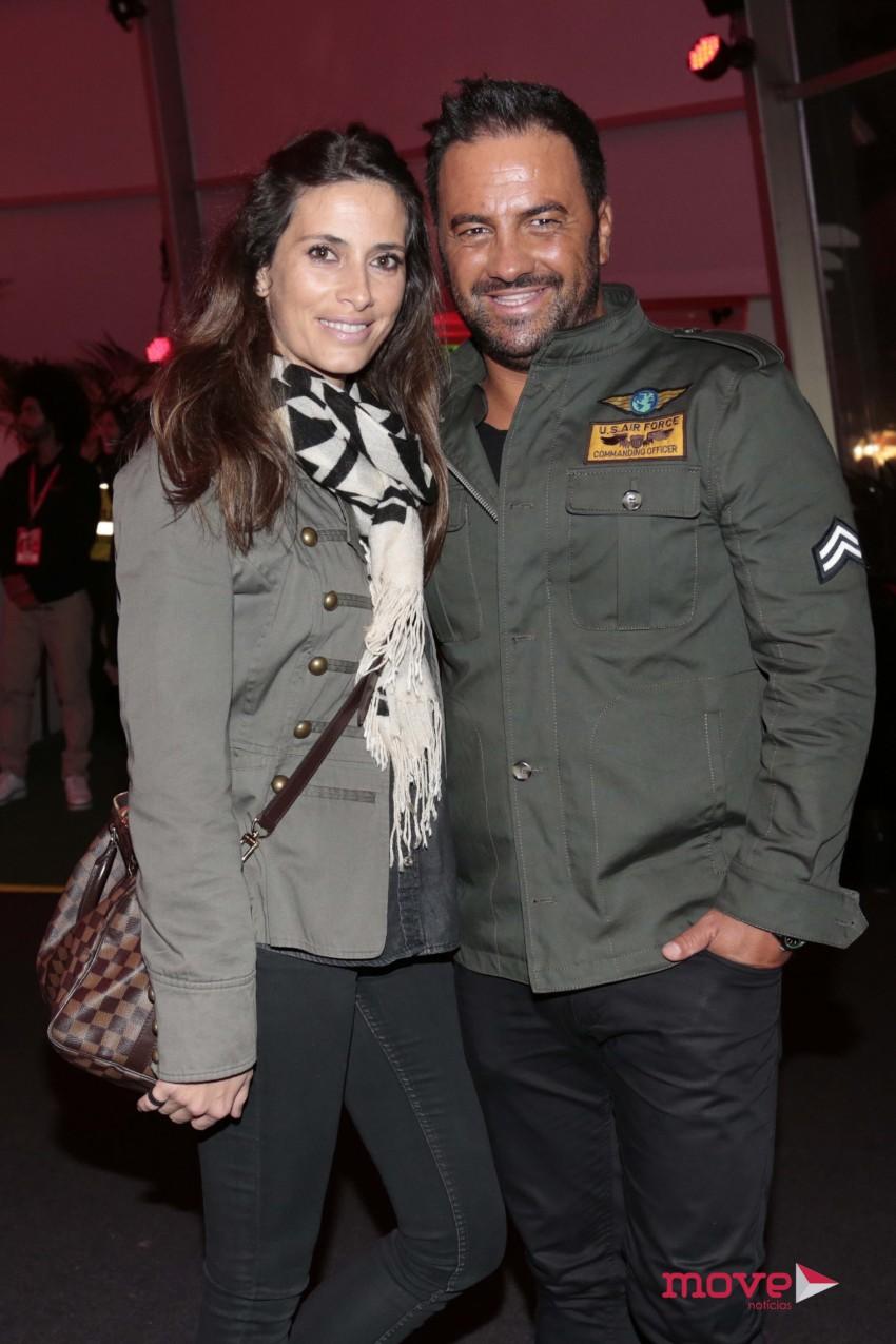 Telma Santos e Hugo Tabaco