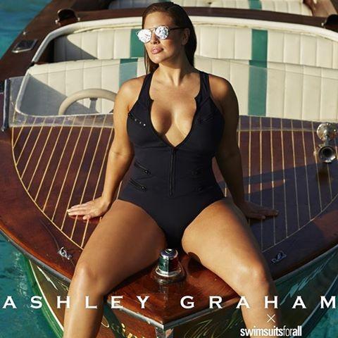 7d0b7c88e Lembre-se que Ashley Graham foi a primeira modelo plus size a ser capa da  prestigiada revista Sports Illustrated.