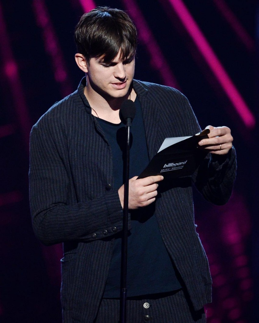 Ashton Kutcher ajudou na apresentação da cerimónia
