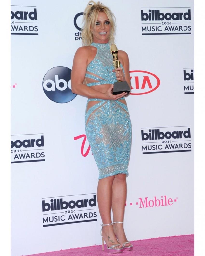 Britney Spears ganhou um troféu