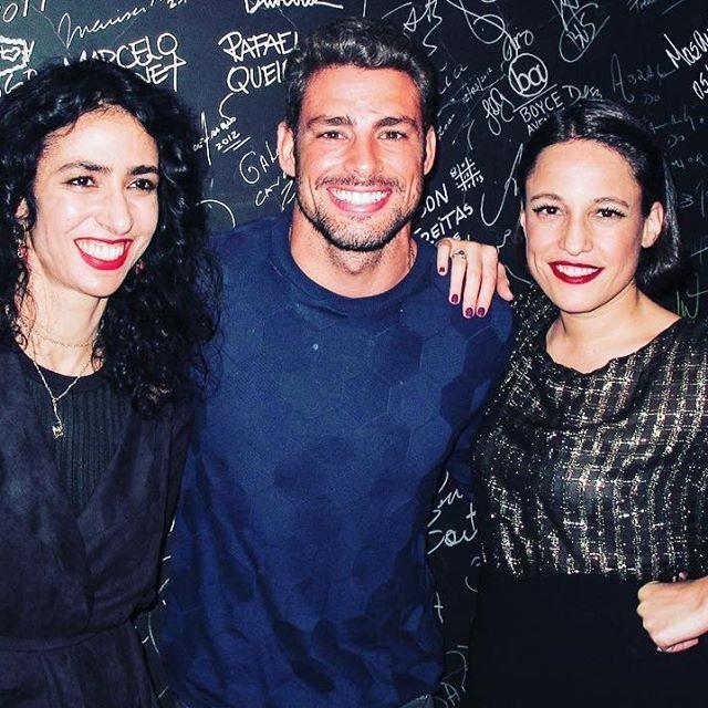 Marisa Monte, Cauã Reymond e Carminho