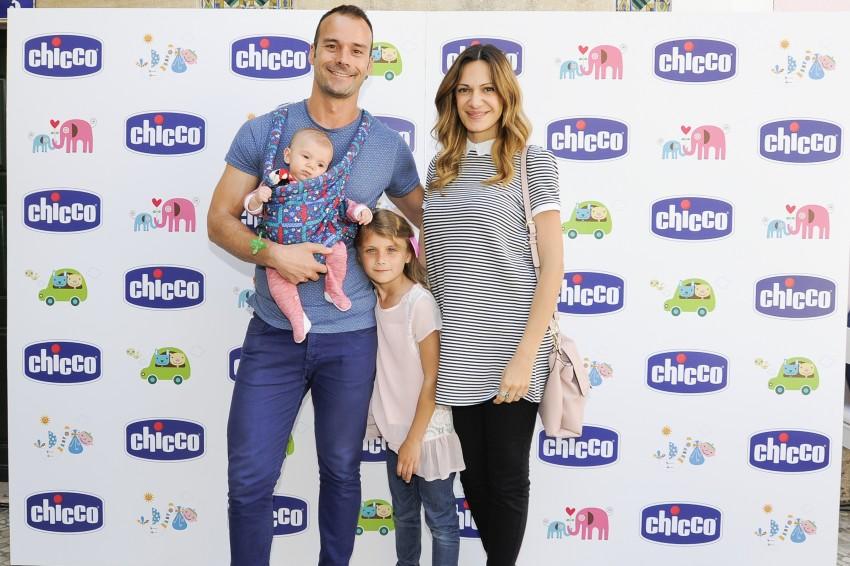 Celso, Ana Rita Rocha e os filhos