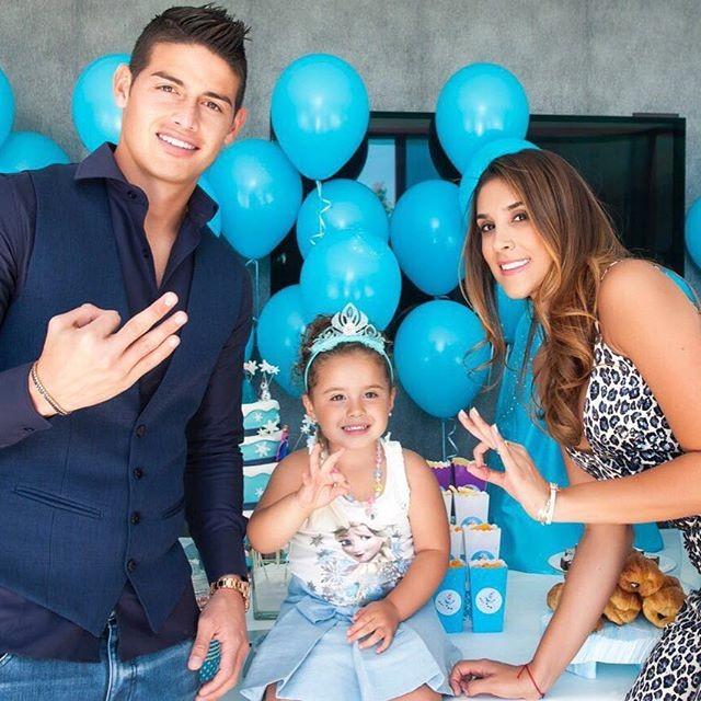 Daniela Ospina, a bela mulher de James, médio ofensivo do Real