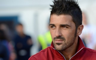 FUSSBALL International: David Villa (Barca)