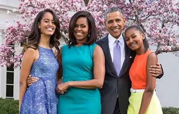 Resultado de imagem para Obama e família