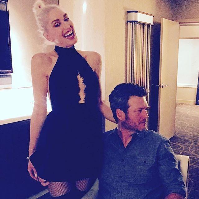 Gwen apresentou-se discreta