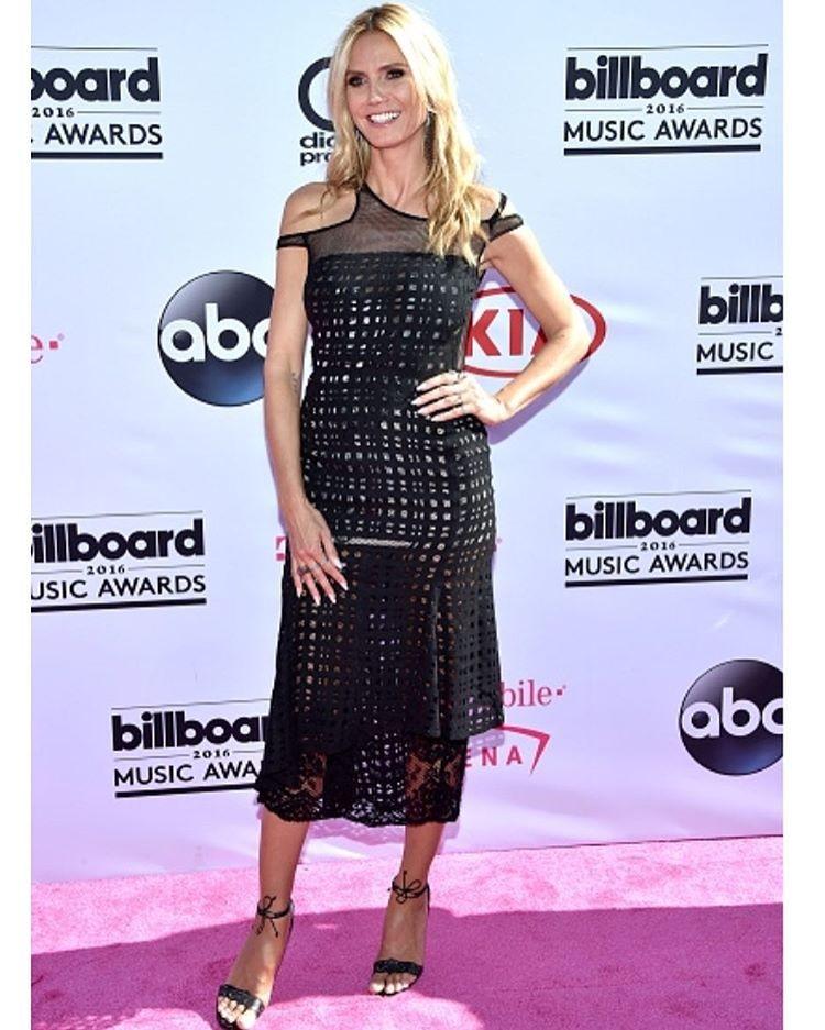 Heidi Klum não faltou à festa