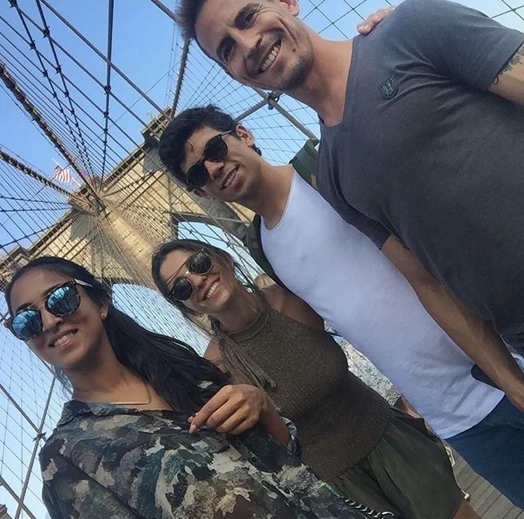 Natacha, Filipa , André Martins e João Pereira