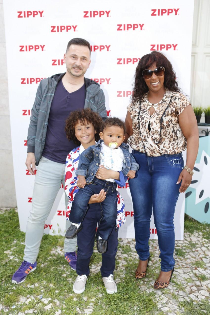 Isaac Carvalho com a família