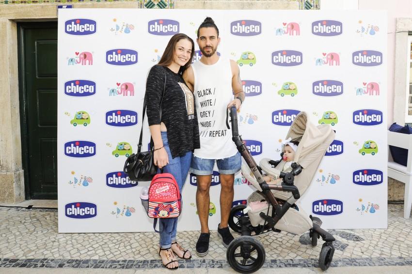 Laura Galvão, Diogo e filha