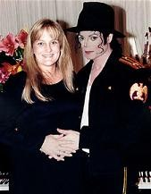 File photo of Michael Jackson and Debbie Rowe